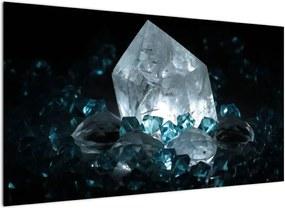 Schilderij - Kristal (), 40 andere afmetingen