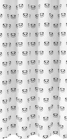 Gordijnstof Xing - wit/zwart - Leen Bakker