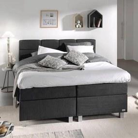 DreamHouse Bedding Boxspringset - Gustavo Comfort 140 x 200, Montagekeuze: Excl. Montage