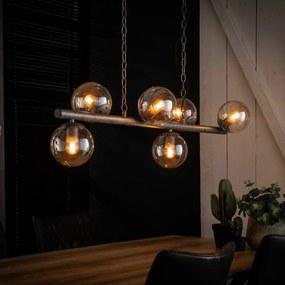 Eettafel Hanglamp Met Glazen Bollen 112 Cm