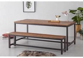 Eettafel Dakota 180 cm Bruin