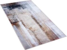 Tapijt beige TRABZON van 80x150 cm laagpolig