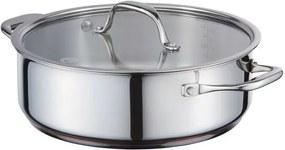 Smoorpan Koper - Ø 24 cm - Incl. Dekstel - 4 7 Liter