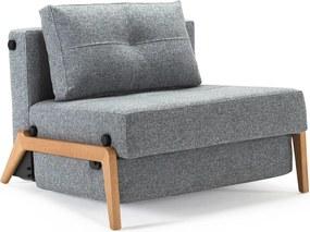 Innovation Living Cubed 90 Wood 1-persoons Slaapbank 565 Graniet