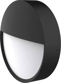 Led Wandlamp Binnen & Wandlamp Buiten (ip65) - Arendal 2 - Zwart - 12w - Warm Wit Licht (3000k) | LEDdirect.nl