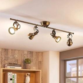 Langwerpige plafondlamp Perseas, GU10 LED - lampen-24
