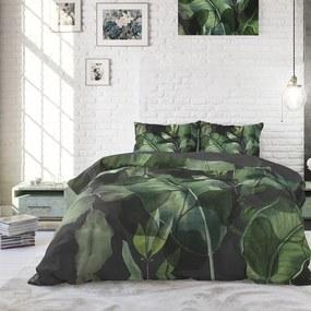 Sleeptime Elegance Wild Plants - Groen 1-persoons (140 x 220 cm + 1 kussensloop) Dekbedovertrek