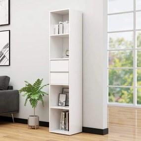 Medina Boekenkast 36x30x171 cm spaanplaat hoogglans wit