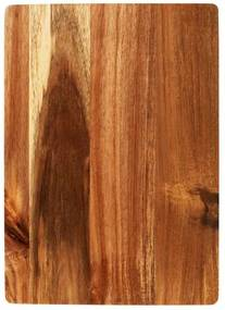 ACACIA Snijplank naturel H 25 x B 35 x D 1.5 cm