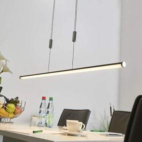 Buisvormige LED hanglamp Matze, glinsterend