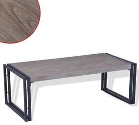 Medina Salontafel 100x50x35 cm grijs
