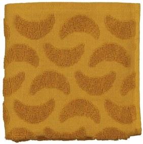 Keukendoek - 50 X 50 - Katoen - Okergeel Croissant (okergeel)