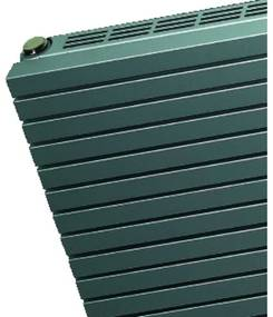 VASCO CARRE Radiator (decor) H41.5xD6.1xL60cm 296W Staal Brown January 111330600041500180304-0000