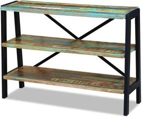 Dressoir 3 schappen massief gerecycled hout