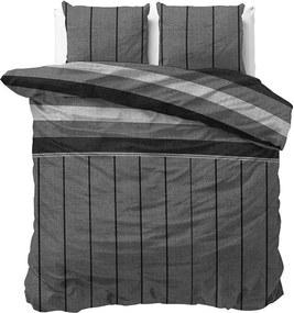 Sleeptime Elegance Kees - Grijs 1-persoons (140 x 220 cm + 1 kussensloop) Dekbedovertrek