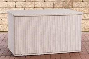 COMFY - Kussenbox - 5mm Polyrotan - wit 125
