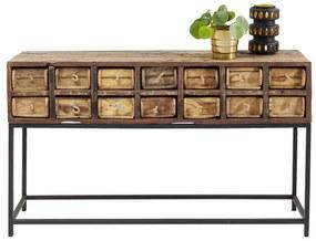 Kare Design Bastidon Houten Sidetable - 125 X 33cm.