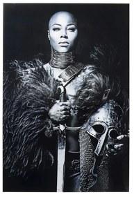 Kare Design Lady Knight Glas Schilderij 100 X 150 Cm