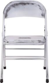 The Red Cartel | Set van 2 stoelen Telma lengte 48 cm x breedte 48,5 cm x hoogte 75 cm wit stoelen metaal meubels stoelen | NADUVI outlet
