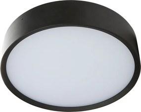 Plafondlamp Led Binnen & Buiten (ip65) - Arendal 1 - Zwart - 12w - Warm Wit Licht (3000k) | LEDdirect.nl