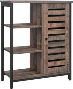 Nancy's Industriële Opbergkast - Dressoir - Kast met 3 Planken - 70 x 30 x 81 cm