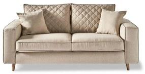 Rivièra Maison - Kendall Sofa 2,5 Seater, oxford weave, ansvers flax - Kleur: beige