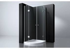 Douchecabine Best Design Erico Kwartrond met Twee Deuren 90x90x192 cm