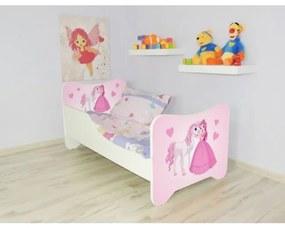 Peuterbed Top Beds Happy 70x140 Prinses en Paard Incl. Matras