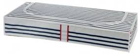 Compactor Opbergmand 100 X 45 X 15 Cm Blauw/Wit
