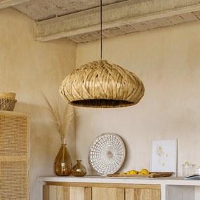 Kave Home Malla Natuurlijke Rieten Hanglamp