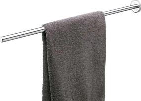 Boston telescopisch handdoekrek RVS geborsteld