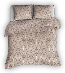 Romanette Rhombus - Flanel Lits-jumeaux (240 x 200/220 cm + 2 kussenslopen) Dekbedovertrek