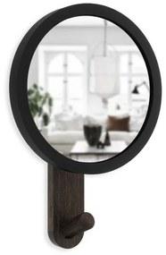 Umbra Hub Spiegel 6x15x22cm zwart/walnoot 318410-048