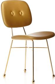 Moooi Golden Chair stoel mat goud