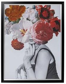 Kare Design Flower Lady Portret Met Bloemen