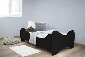 Peuterbed Top Beds Midi 70x140 Black Incl. Matras