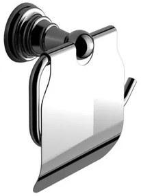 Sapho Diamond toiletrolhouder chroom met klep