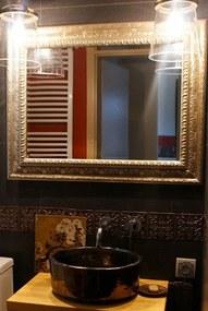 Noiva | Bruine design wastafel | 38 x 38 x 14 cm