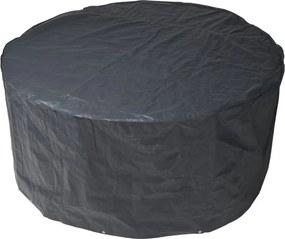 Beschermhoes voor tuinset grijs PE H90x dia. 325cm
