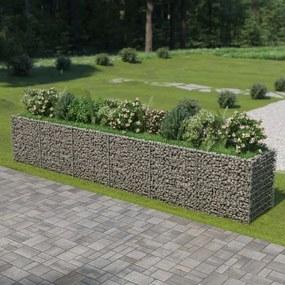 Gabion plantenbak verhoogd 540x90x100 cm gegalvaniseerd staal