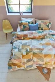 Beddinghouse | Dekbedovertrekset Scrapwood lits-jumeaux: breedte 240 cm x lengte 200/220 cm + multicolour dekbedovertrekken | NADUVI outlet