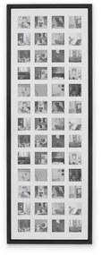 Diment extra grote fotolijst voor 52 foto's, zwart