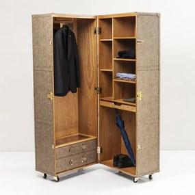 Kare Design West Coast Koffer Garderobekast - 68x66x180cm.