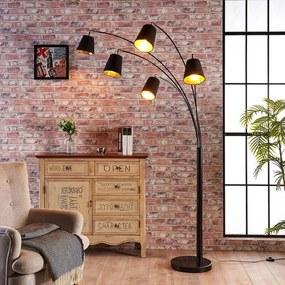 5.lamps textiele vloerlamp Tinne - lampen-24