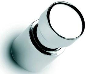 Handdoekknop brede gleuf Chroom