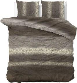 DreamHouse Bedding Gradient Knits - Taupe 2-persoons (200 x 220 cm + 2 kussenslopen) Dekbedovertrek