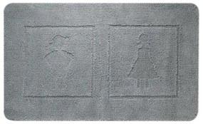 Sealskin Man&Woman Badmat Katoen 60x100 cm Antraciet 292682413