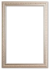 Barok Fotolijst 20x25 cm Zilver - Daniel