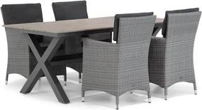 Garden Collections Orlando/Forest 180 cm dining tuinset 5-delig