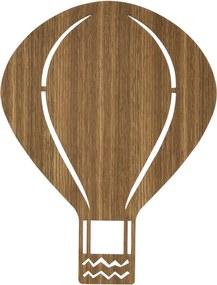 Ferm Living Air Balloon wandlamp eiken